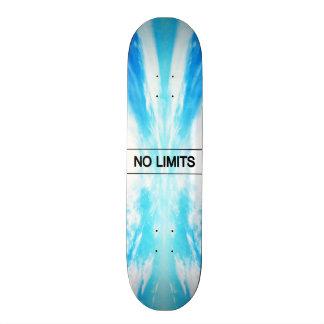 Nenhuns limites shape de skate 19,7cm