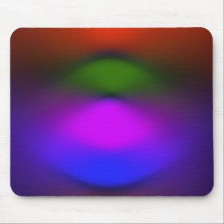 Néon de Mousepad azul, roxo, verde & alaranjado
