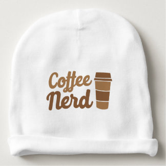 nerd do café gorro para bebê