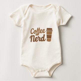 nerd do café macacãozinho para bebês