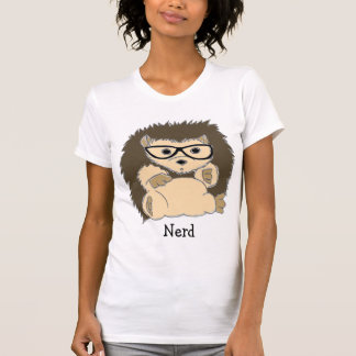 Nerd do ouriço, hipster, Geeky… Camisas