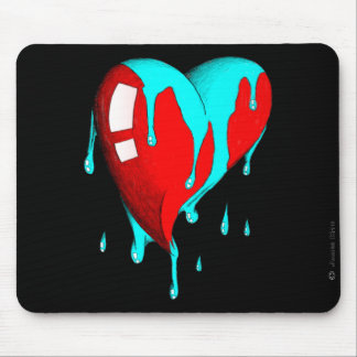 Nervoso no amor mouse pad