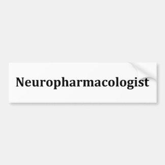 neuropharmacologist adesivo para carro