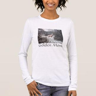 Neve do t-shirt do golden retriever