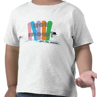 neve obtida? camiseta