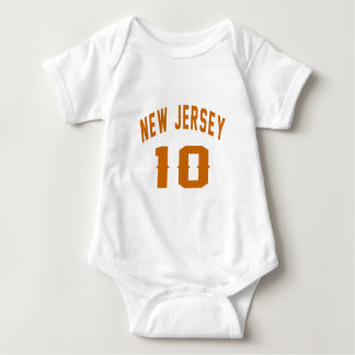 New-jersey 10 designs do aniversário t-shirts