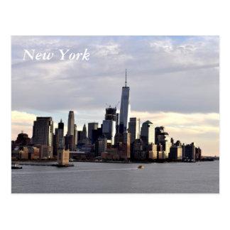New York, cartão do centro