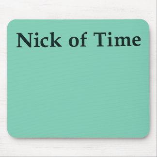 """Nick tapete do rato do tempo"" Mouse Pad"