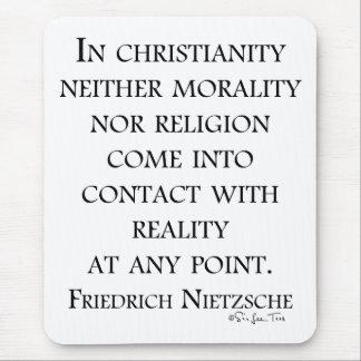 Nietzsche na cristandade mouse pad