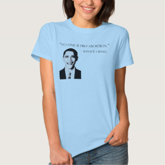 Ninguém é t-shirt do pro-aborto