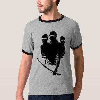 ninjas dos tres camisetas