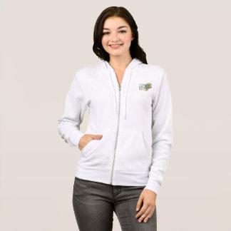 NIVELE SEU hoodie das mulheres brancas do FAT Camisetas