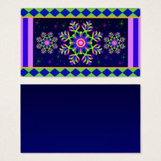 No3 colorido fino do cartão de visita do