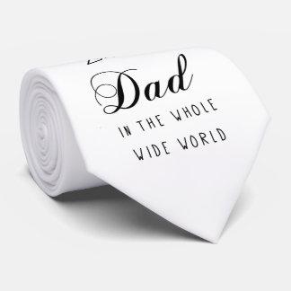 No.1 pai - laço do pescoço do dia dos pais gravata