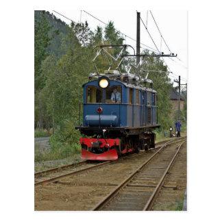 No. 8 da locomotiva elétrica de Thamshavnbanen Cartão Postal
