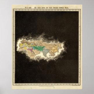 No fim da terceira guerra Punic 146 BC Poster