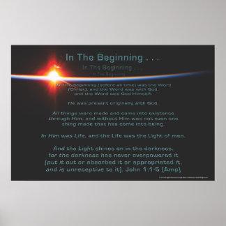 No poster do começo por Joseph James (Hartmann)
