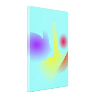 No vidro impressão em canvas