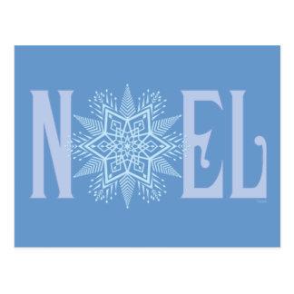 NOEL-Floco de neve Cartão Postal