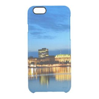 Noite de Alster da alemanha de Hafen do porto de Capa Para iPhone 6/6S Clear