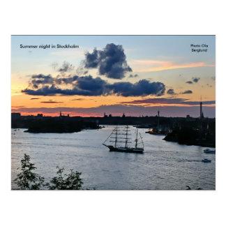 Noite de verão em Éstocolmo, Phot… Cartão Postal