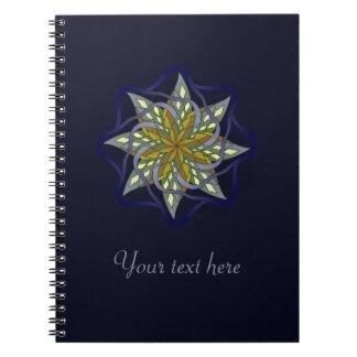 Noite do outono cadernos espiral