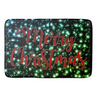 Noite estrelado do Feliz Natal bonito do tapete de