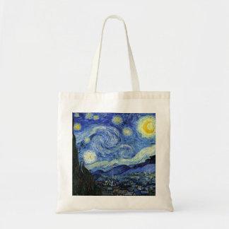 Noite estrelado por Vincent van Gogh Bolsa Tote