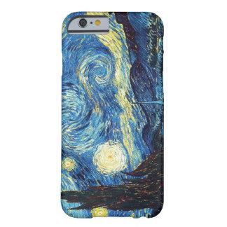 Noite estrelado - Van Gogh Capa iPhone 6 Barely There