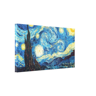 Noite estrelado - Vincent van Gogh