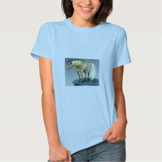 Noite nevado T cabido T-shirt
