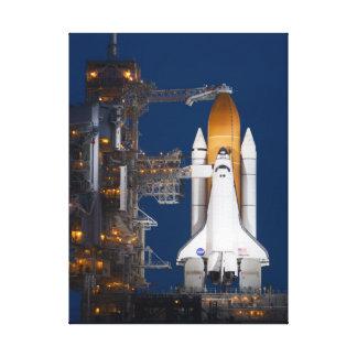 Noite STS-135 antes das canvas do lançamento Impressão Em Tela