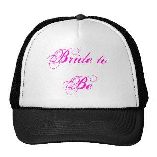 Noiva a ser chapéu boné