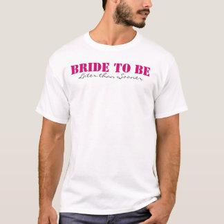Noiva a ser tshirts