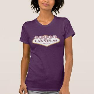 NOIVA da camisa fabulosa de Las Vegas Camisetas