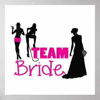 Noiva da equipe - empregada doméstica de honra poster