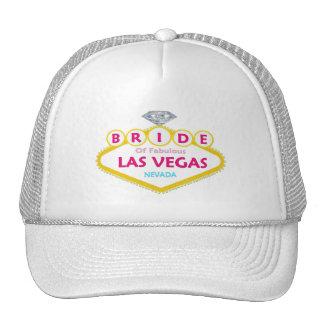 NOIVA do diamante do boné fabuloso de Las Vegas