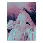 Noiva do rosa & dos azuis bebés do Victorian do vi Cartão Postal