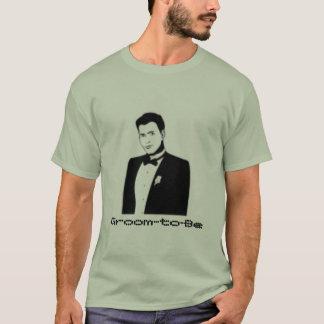 Noivo-à-Esteja Camiseta