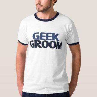 Noivo do geek camiseta
