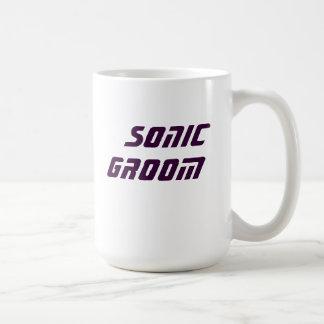noivo sónico caneca de café