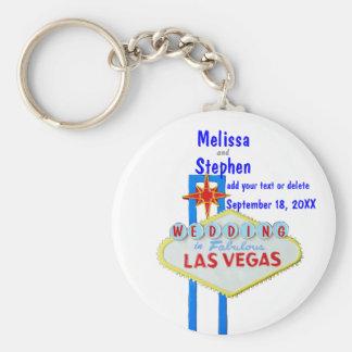 Noivos de Las Vegas Chaveiros