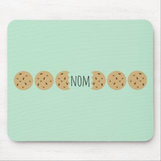 """Nom"" o biscoito da microplaqueta de Choc Mousepad"