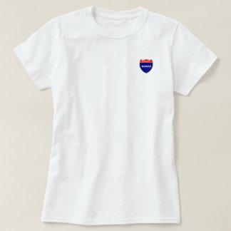 Nómada de um estado a outro: Tshirt do valor das