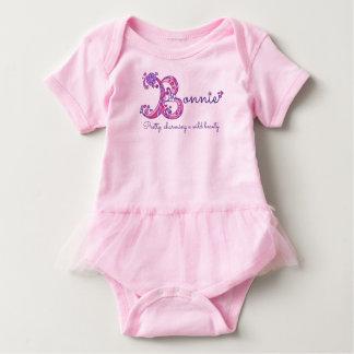 Nome Bonnie das meninas & significado da camisa do T-shirts