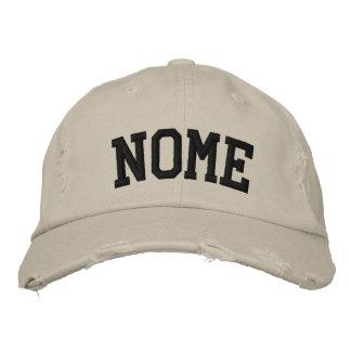 Nome bordou o chapéu