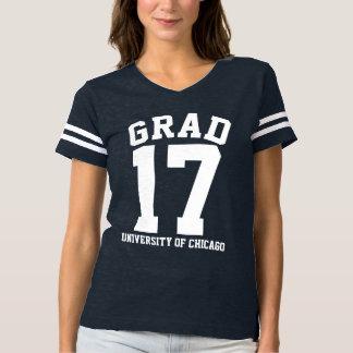 Nome branco da escola do formando 2017 do texto camiseta