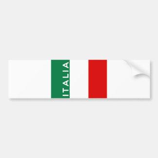 nome do texto do país da bandeira de Italia italia Adesivo Para Carro