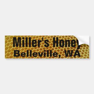 Nome/endereço da fazenda do favo de mel adesivo para carro