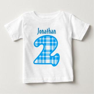 Nome feito sob encomenda bienal V007E da XADREZ do T-shirt